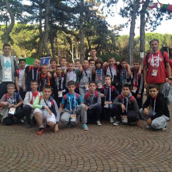 I serbi del Beograd 1 e 2