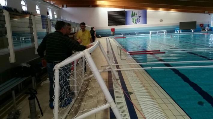 Squadre in arrivo al Ge.Tur: si montano i campi nella piscina olimpica