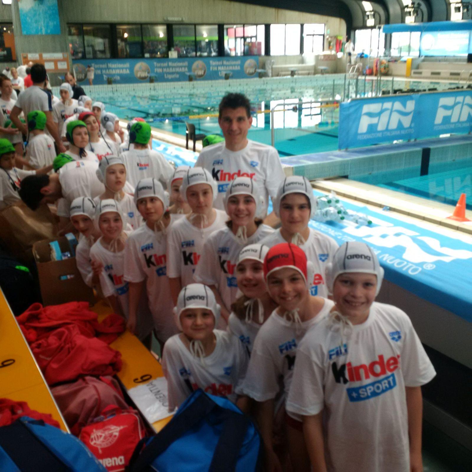 Torneo Nazionale Fin-HaBaWaBa di Genova, 2-3 Aprile 2016 – R.N. Florentia