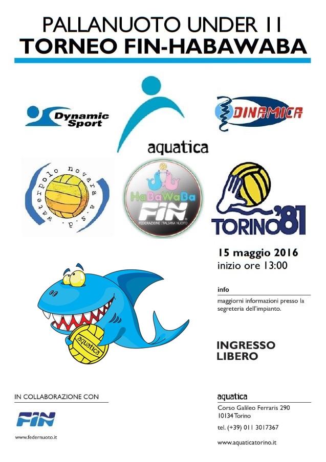 torneo fin-habawaba aquatica torino 15 maggio 2016 (2)