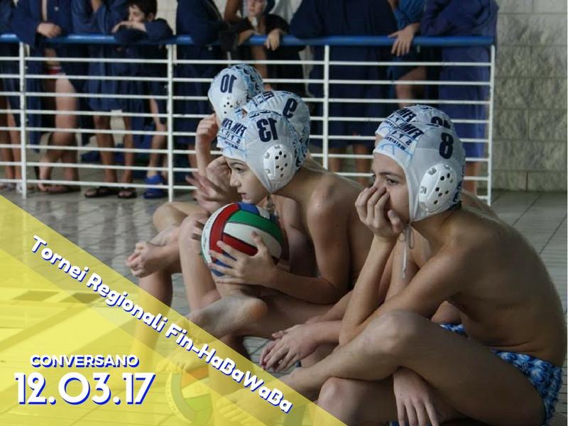 Tornei regionali Fin-HaBaWaBa Puglia   Domenica12/3 la 2^ giornata