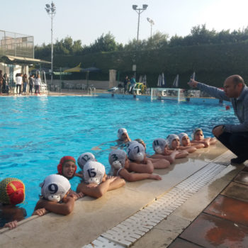 Gezira U11 team during a training in Cairo