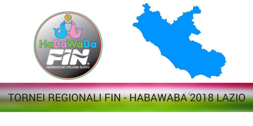 TORNEI REGIONALI FIN - HABAWABA 2018 LAZIO
