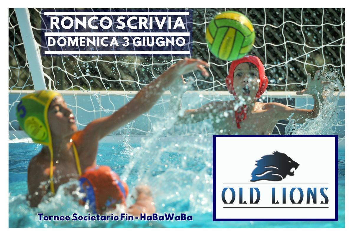 Torneo Societario Fin - HaBaWaBa-old-lions-ronco-scrivia-3-giugno-2018