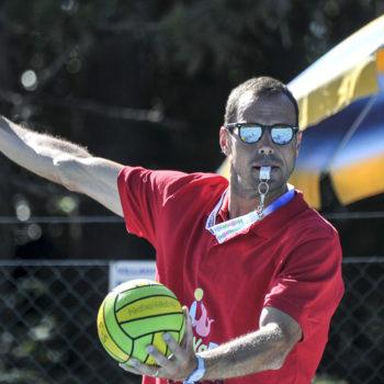 Francesco Postiglione in versione arbitro (foto DeepBlueMedia)