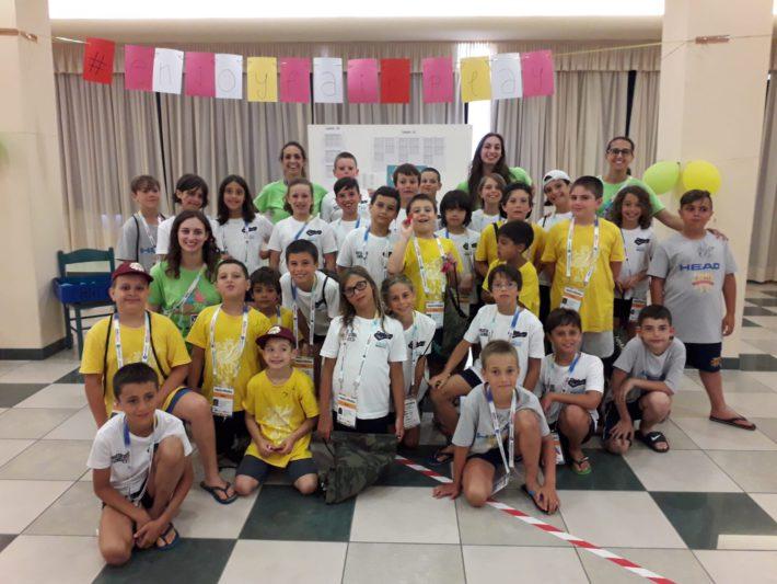 In maglia verde da sinistra a destra, la volontaria Silvia Trotto, la dott.ssa Belinda Ciulli, Lara Delli Guanti e Alessia Millo.
