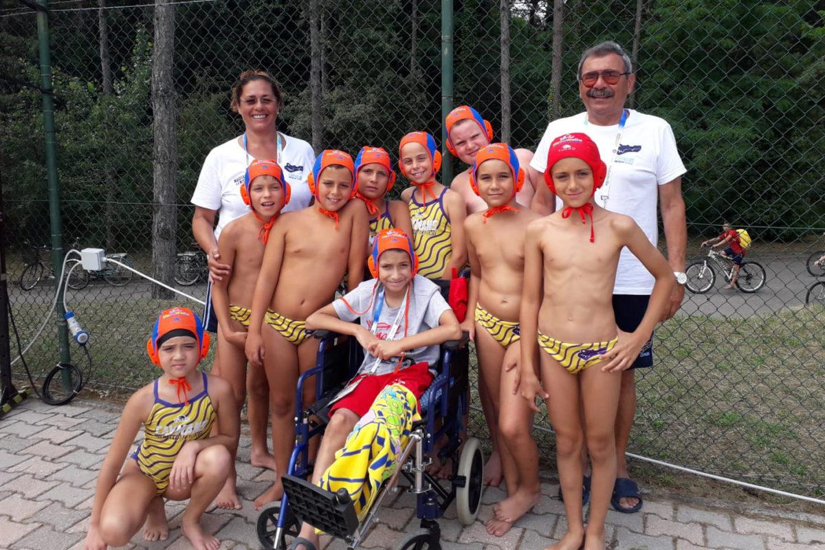 Mattia LOmbardo e Pro Recco Academy U9