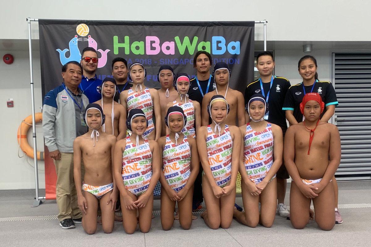 HaBaWaBa Asia 2018 Chiang Mai squadra