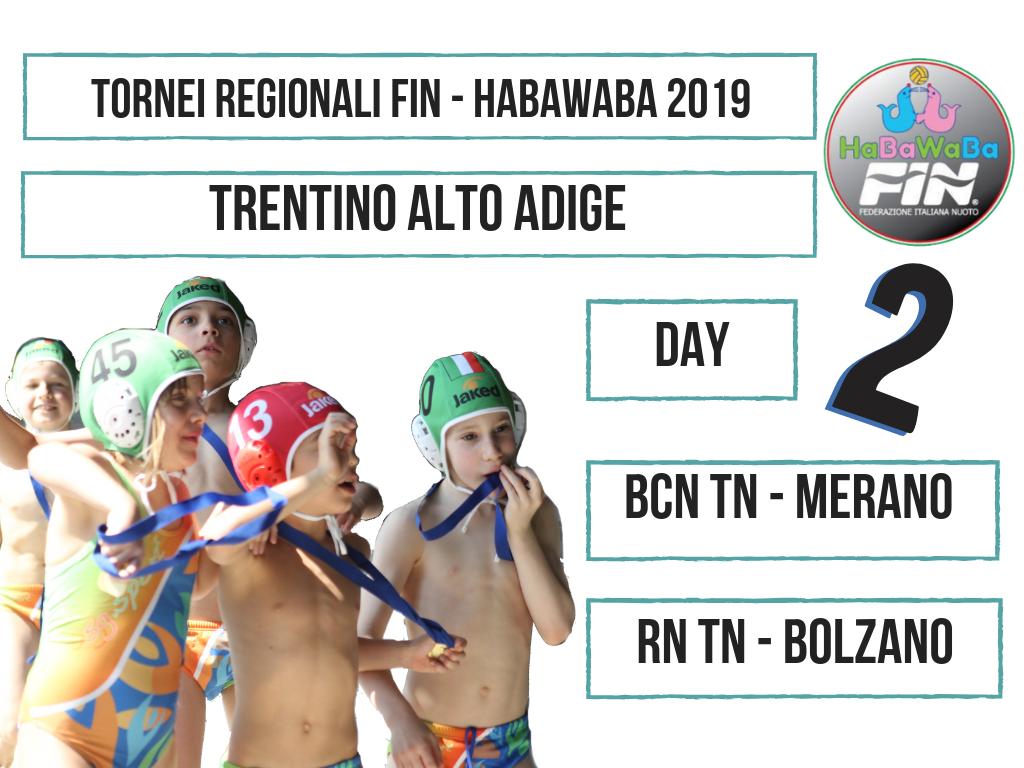 Copy of TORNEI REGIONALI FIN HABAWABA 2019 TRENTINO ALTO ADIGE DAY 2