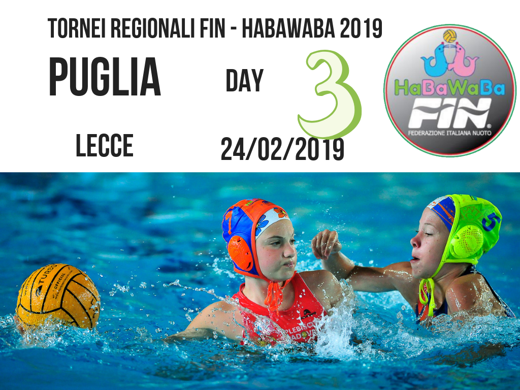 Copy of TORNEI REGIONALI FIN HABAWABA 2019 puglia DAY 3