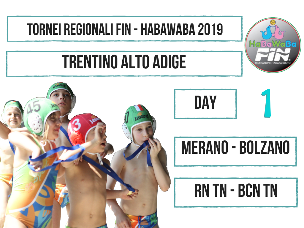 TORNEI REGIONALI FIN HABAWABA 2019 TRENTINO ALTO ADIGE DAY 1