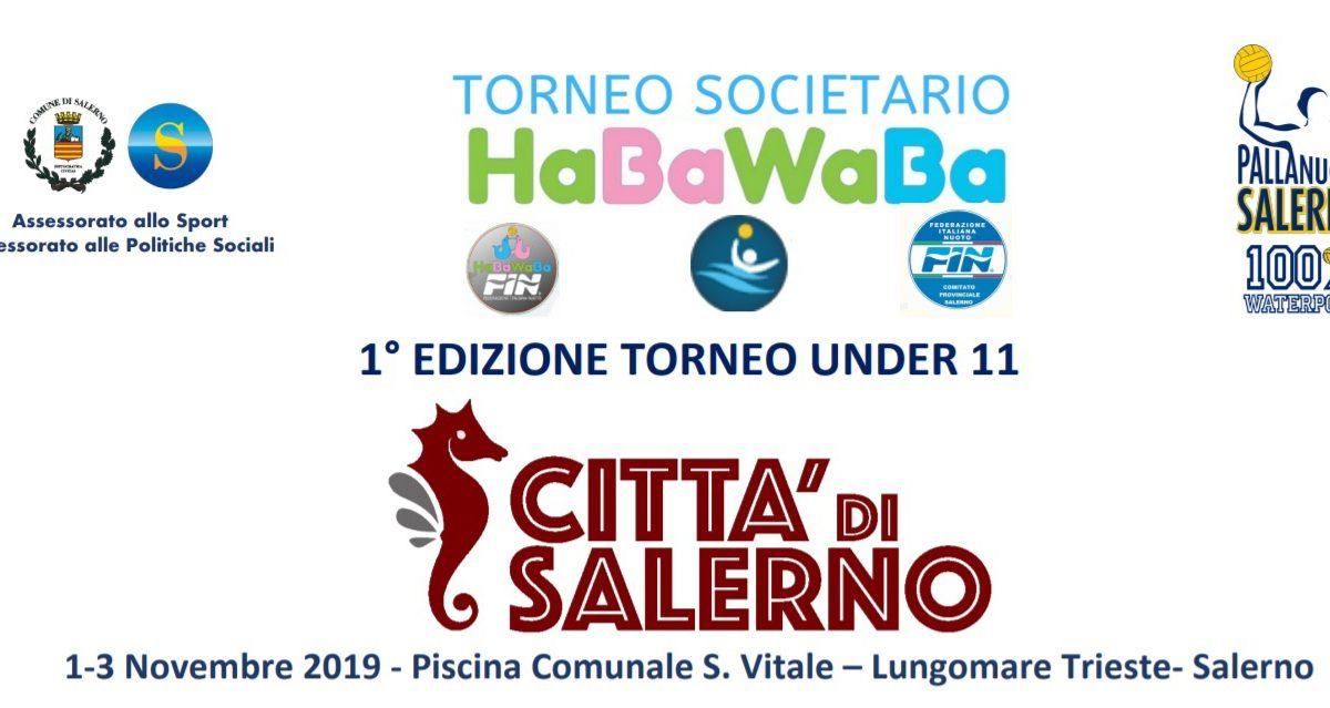 torneo societario fin habawaba città di xsalerno 2019 1 3 novembre