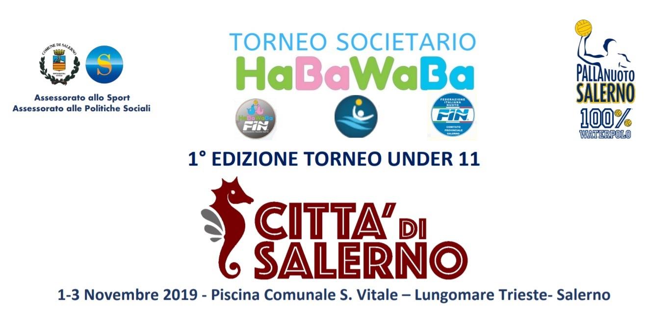 """Torneo societario HaBaWaBa """"Città di Salerno"""""""