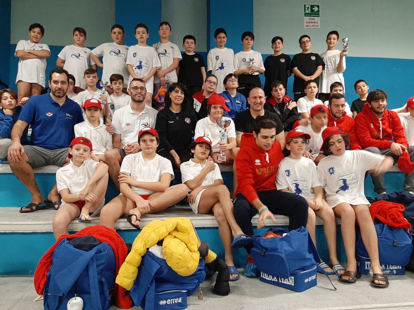 """Torneo societario FIN – HaBaWaBa """" 3^Trofeo della Befana"""""""