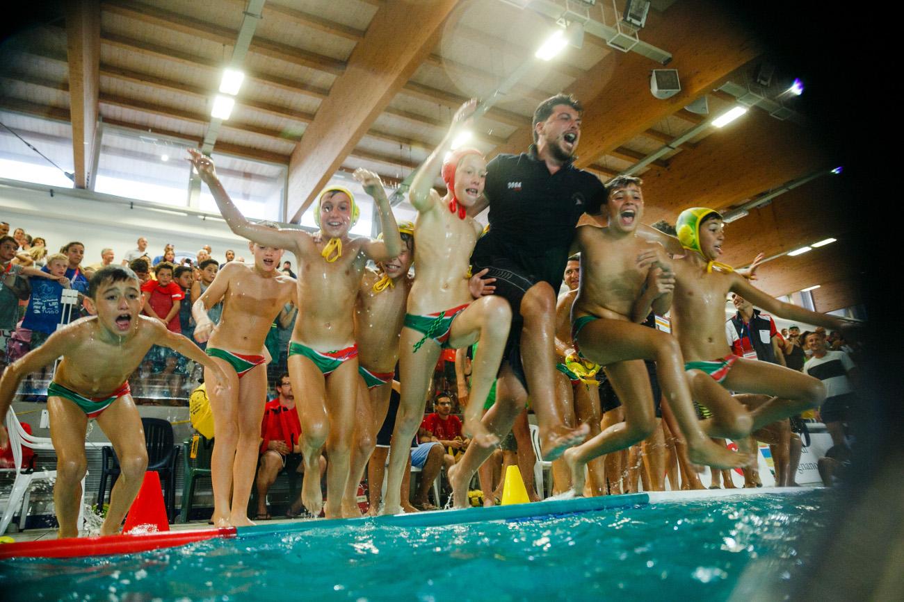 Torneo U11, le foto del trionfo del Posillipo Coccodrilli