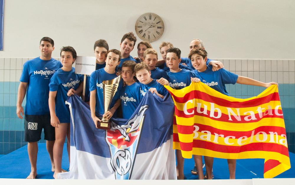 Il Barcelona campione dell'HaBaWaBa Plus U13!