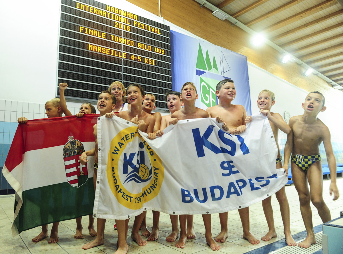 Torneo U9, il KSI porta l'Ungheria sulla vetta dell'HaBaWaBa