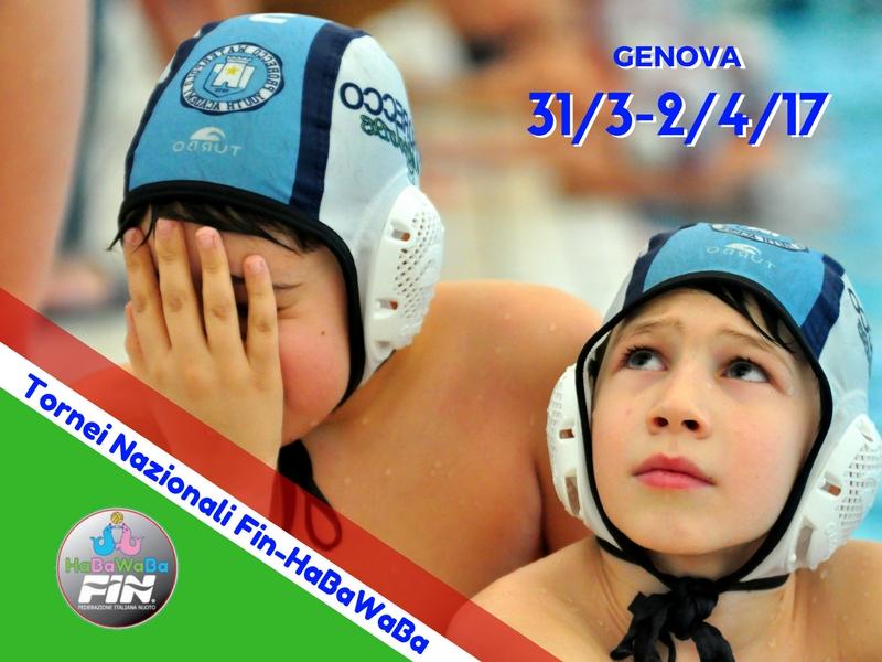 Torneo Nazionale Fin-HaBaWaBa Genova 31.03/02.04.17