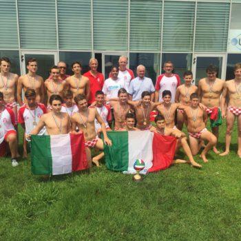 La squadra che domenica è diventata campione d'Italia U15