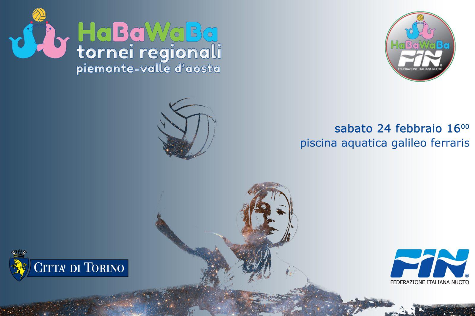 Tornei Fin – HaBaWaBa: al via la regione Piemonte
