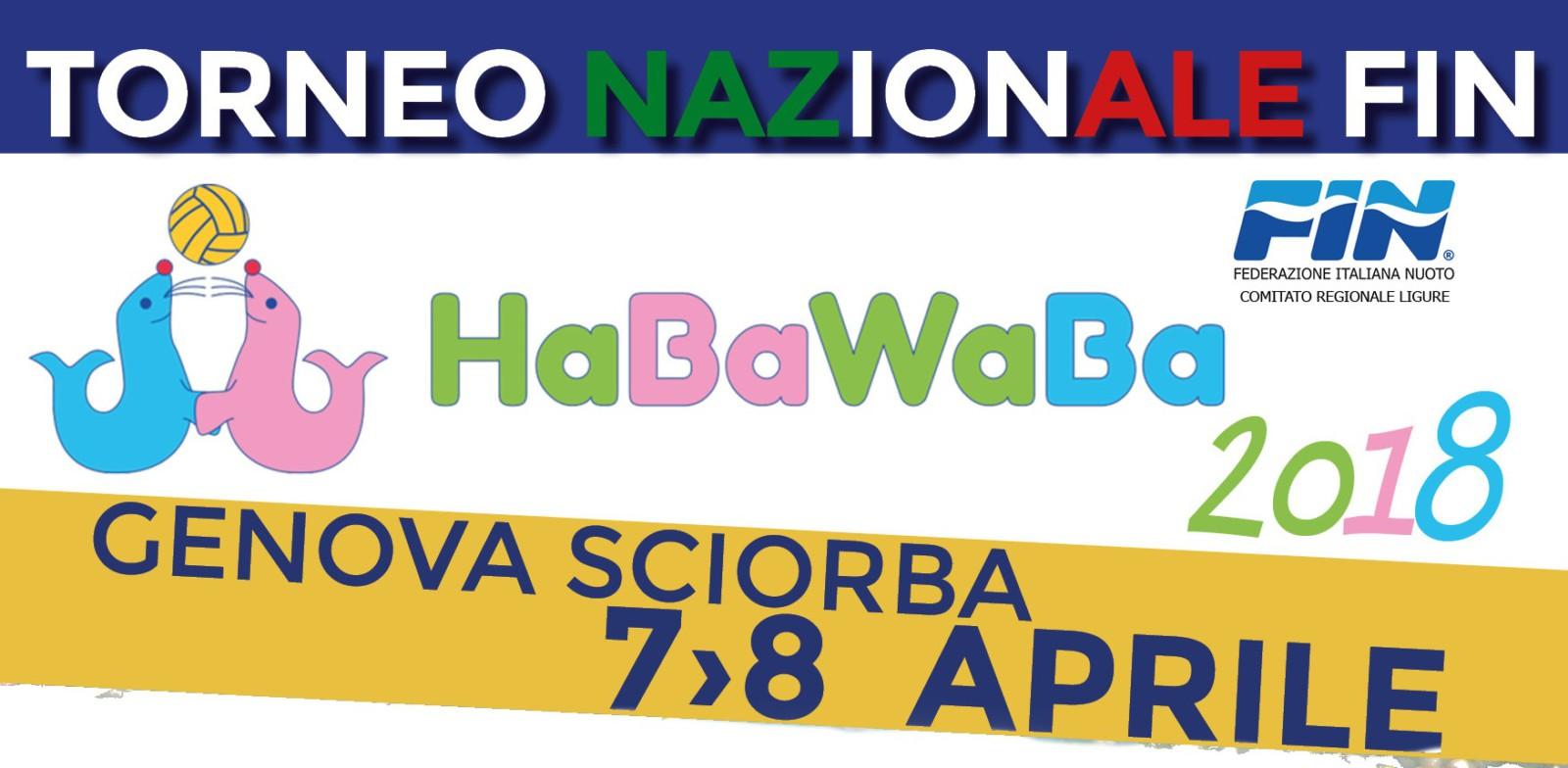 Tornei Nazionali Fin-HaBaWaBa Girone Nord | Genova, 7-8/4/2018
