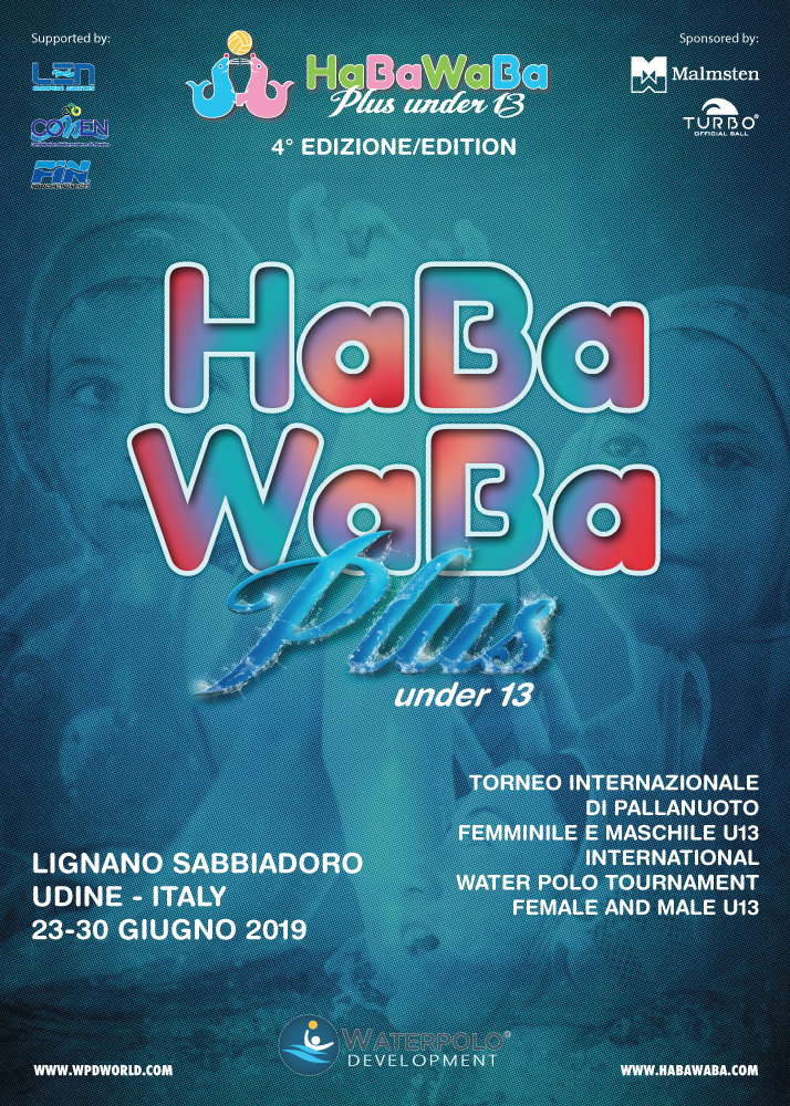 HaBaWaBa PLUS U13 2019 POSTER