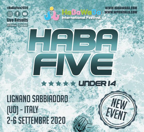 HABAFIVE U14 rinviato a data da destinarsi